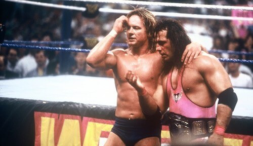 "Bret Hart vs ""Rowdy"" Roddy Piper, WrestleMania VIII"