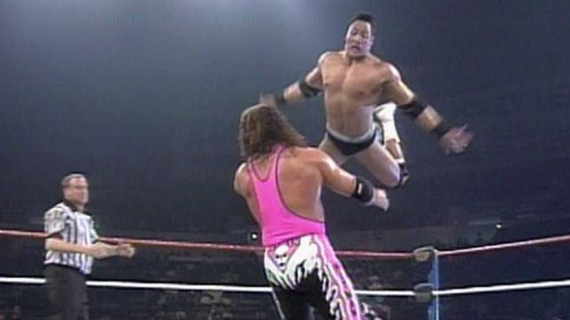 Bret Hart vs The Rock, WWF Raw, 1997