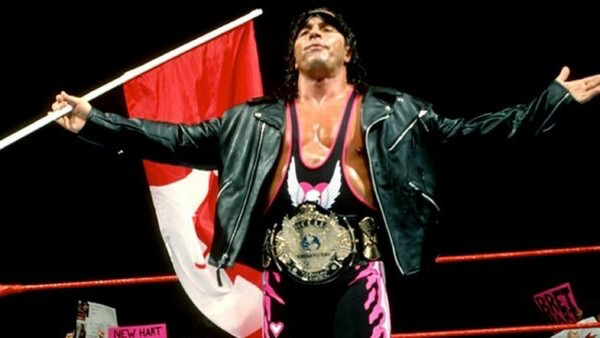 Bret as WWF Champion